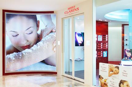 タイバンコクスパエステ日本語予約:CLARINS (Central Ladprao) クラランス(セントラル・ラートプラオ店)